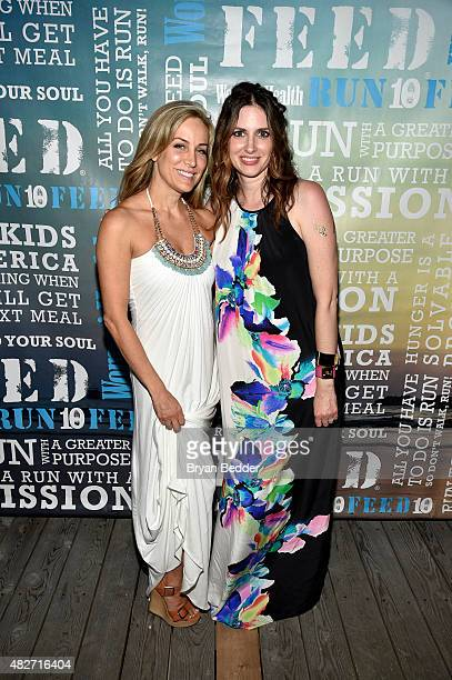 Publisher of Women's Health Laura FrererSchmidt and EditorinChief of Womens Health magazine Amy Keller Laird attend the Women's Health's 4th annual...