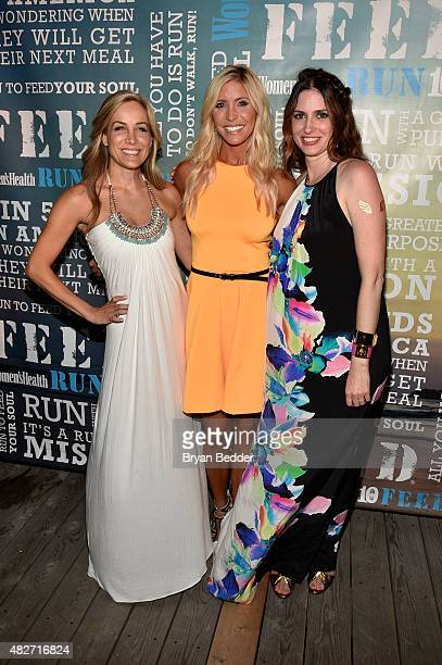 Publisher of Women's Health Laura FrererSchmidt TV personality Heidi Powell and EditorinChief of Womens Health magazine Amy Keller Laird attend the...