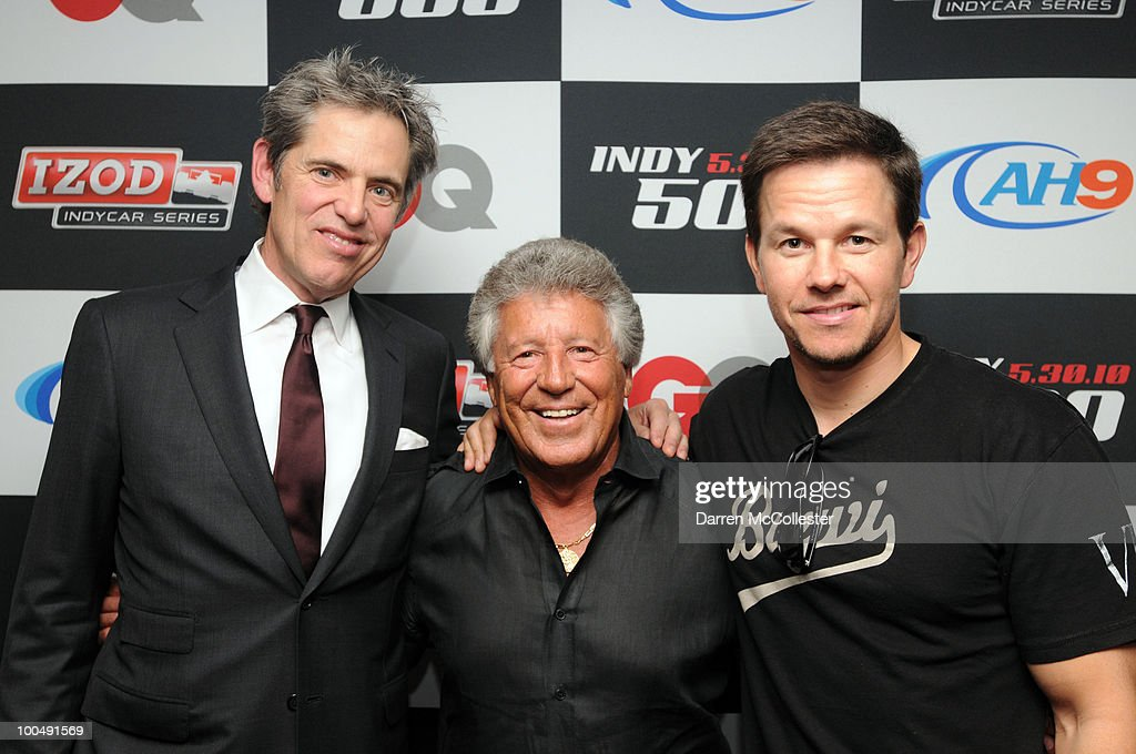 GQ + Izod Indy 500 Dinner Hosted By Mark Wahlberg + Peter Hunsinger