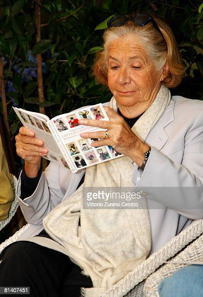 Publisher Rosellina Archinto attends the Gatti in Crisi D'Identita Book Launch held at Vivaio Sorelle Riva on June 04 2008 in Milan Italy