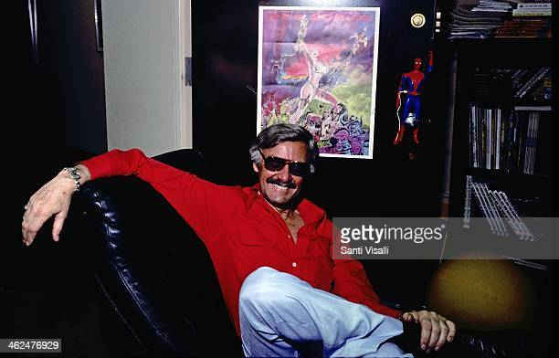 Publisher Stan Lee posing for a portrait on July 10 1978 in New York New York