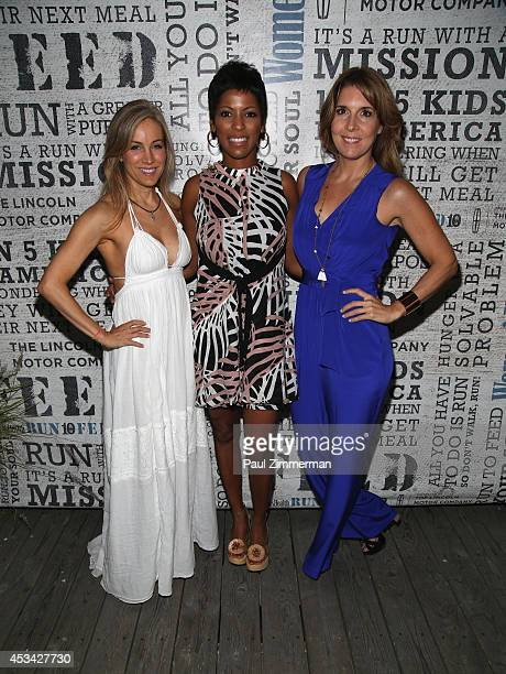 VP publisher Women's Health Magazine Laura FrererSchmidt Anchor Today Show Tamron Hall and VP EditorinChief Women's Health Magazine Michele...
