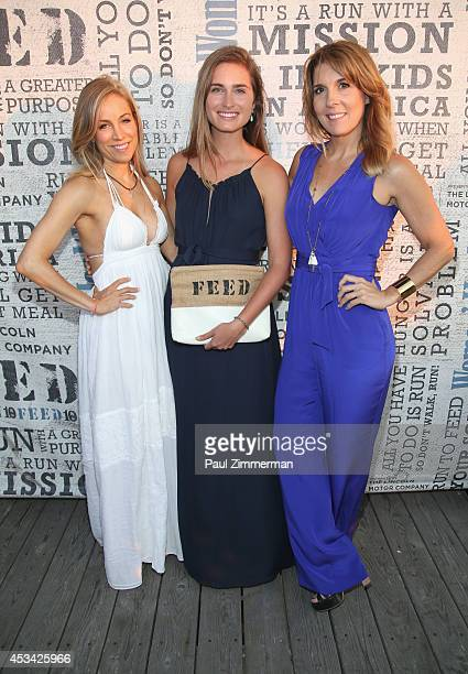 VP publisher Women's Health Magazine Laura FrererSchmidt Founder and CEO FEED Lauren Bush Lauren and VP EditorinChief Women's Health Magazine Michele...