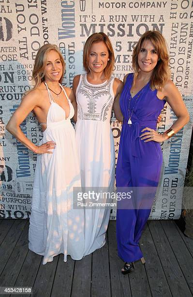 VP publisher Women's Health Magazine Laura FrererSchmidt Meteorologist Good Morning America Ginger Zee and VP EditorinChief Women's Health Magazine...