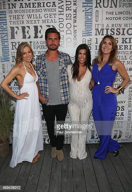 VP publisher Women's Health Magazine Laura FrererSchmidt Scott Disick TV Personality Kourtney Kardashian and VP EditorinChief Women's Health Magazine...