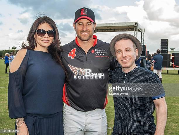 Publist MJ Pebone and Michael Scherat International Polo Club Palm Beach on January 16 2017 in Wellington Florida