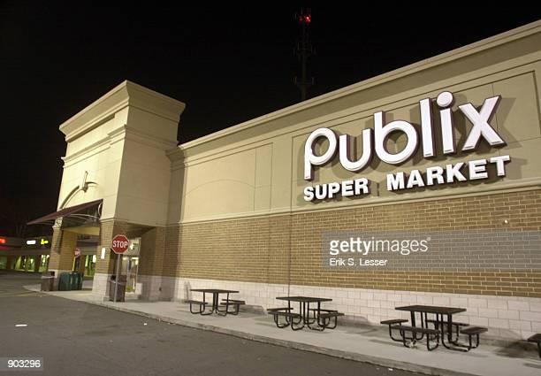 Publix Super Market is seen early February 8 2002 in Norcross GA