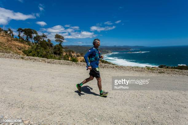 Pucatrihue Chile 25 November 2018 The first version of the San Juan Trail of La Costa was made in the Pucatrihue sector on the shores of the Pacific...