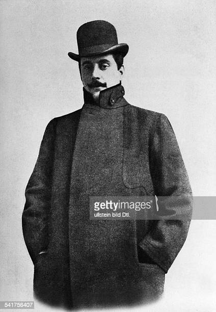 Puccini, Giacomo *22.12.1858-+Komponist, I- Halbportrait- undatiert