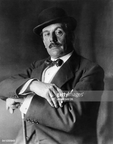 Puccini, Giacomo *22.12.1858-+Komponist, Italien- Halbportrait- 1924