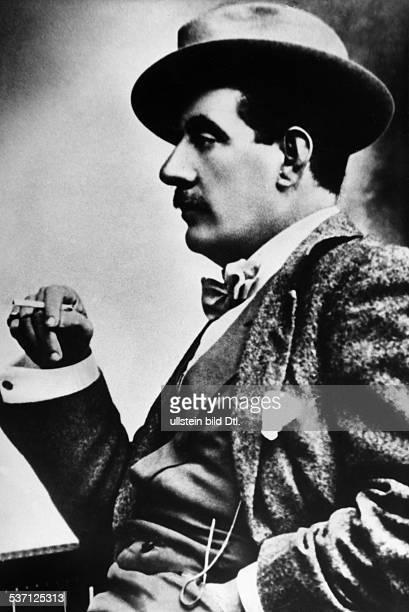 Puccini, Giacomo , Komponist, Italien, - Portrait im Profil, - undatiert