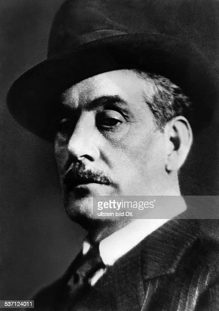 Puccini, Giacomo , Komponist, Italien, - Portrait mit Hut, - undatiert