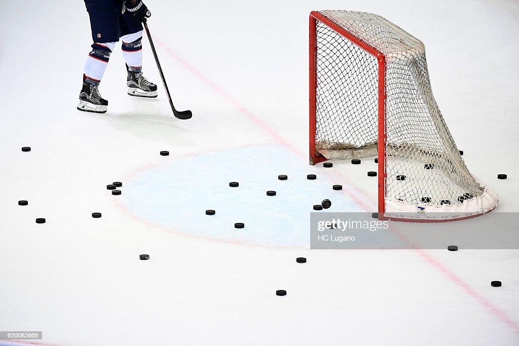 CHE: HC Lugano v ZSC Lions Zurich - Champions Hockey League