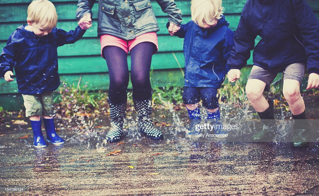 Puddle Jumpers : Stock Photo