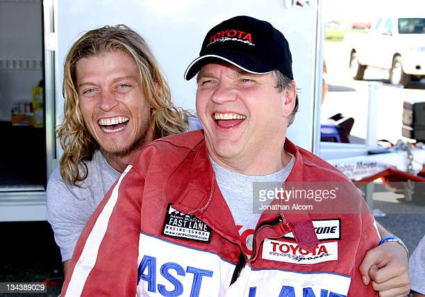 Puddle of Mud lead singer Wes Scantlin and Meat Loaf
