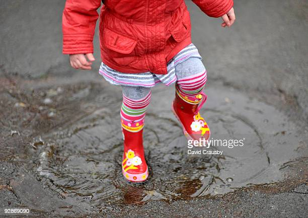 Puddle Stomping