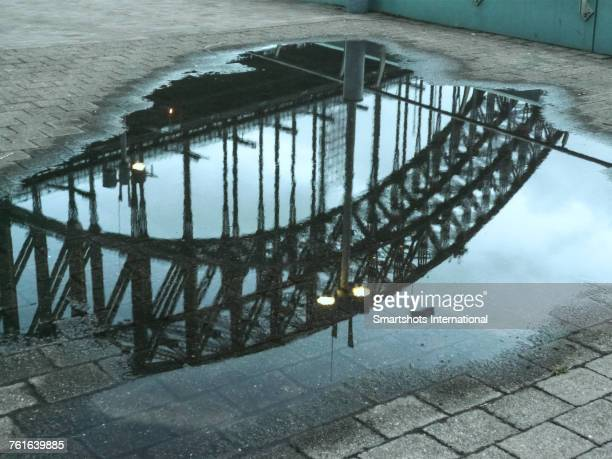puddles - sydney rain stock pictures, royalty-free photos & images