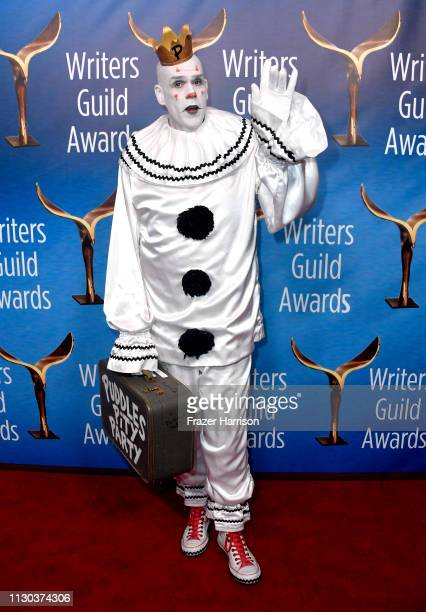 Puddles Pity Party attends the 2019 Writers Guild Awards LA Ceremony at The Beverly Hilton Hotel on February 17 2019 in Beverly Hills California