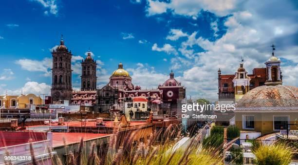 Puebla Vista from Museo Amparo