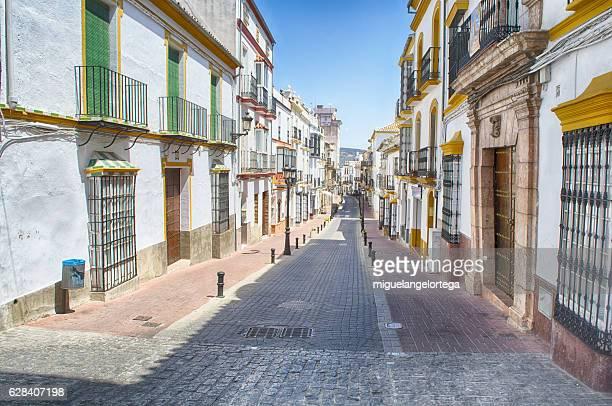 Pueblo andaluz-. Andalusian village
