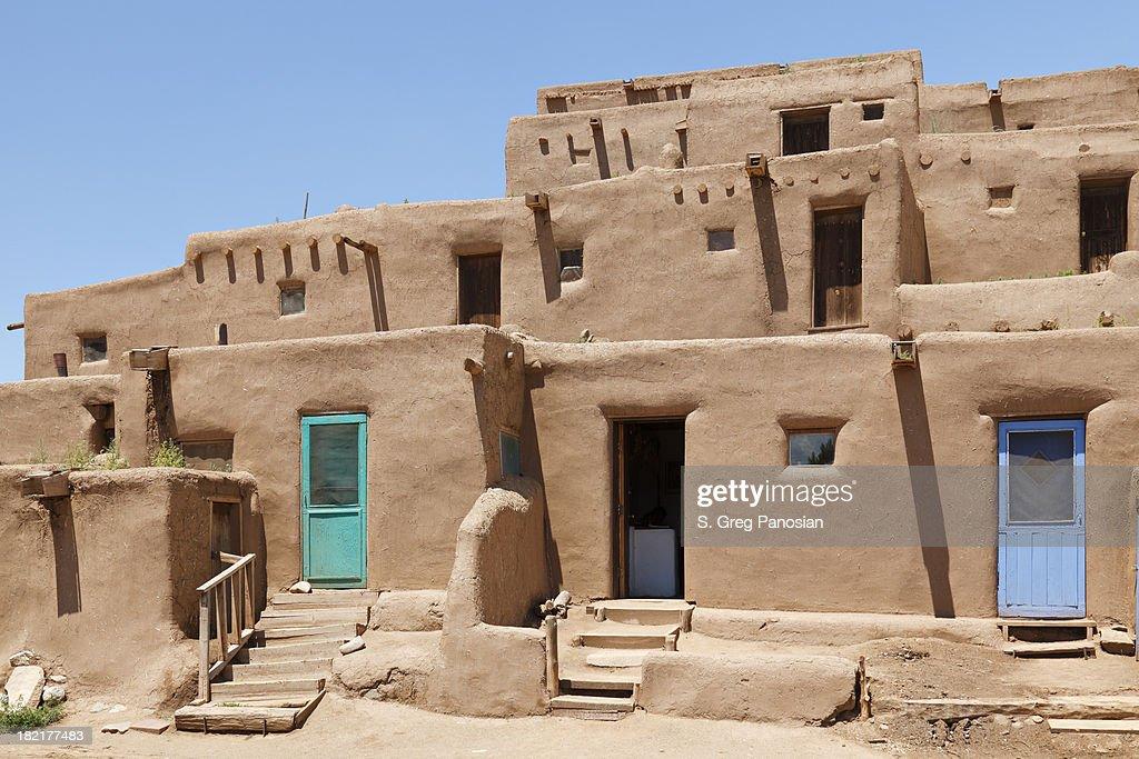 Pueblo Architecture : Stock Photo