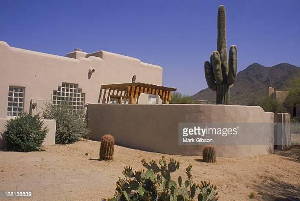 Pueblo architecture, Scottsdale, AZ