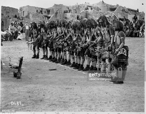 Pueblo Snake Priests Performing