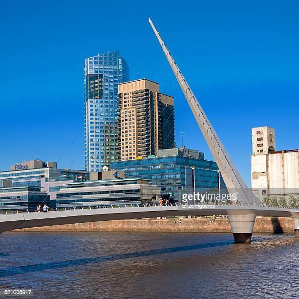 Puente de la Mujer Puerto Madero Buenos Aires