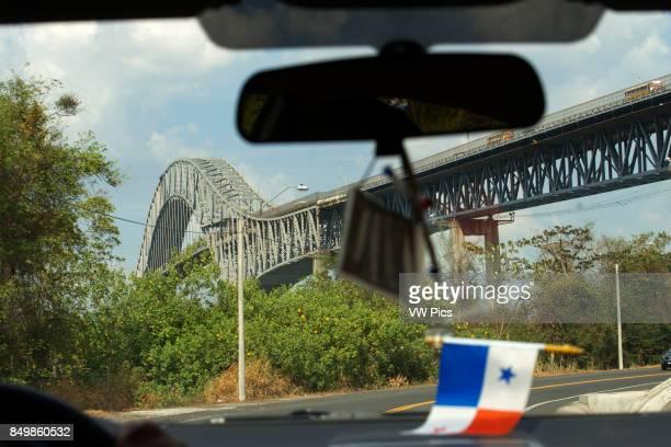 Puente de las Americas, Bridge of the Americas, Thatcher Ferry Bridge, Republic of Panama. The Bridge of the Americas is a road bridge in Panama,...