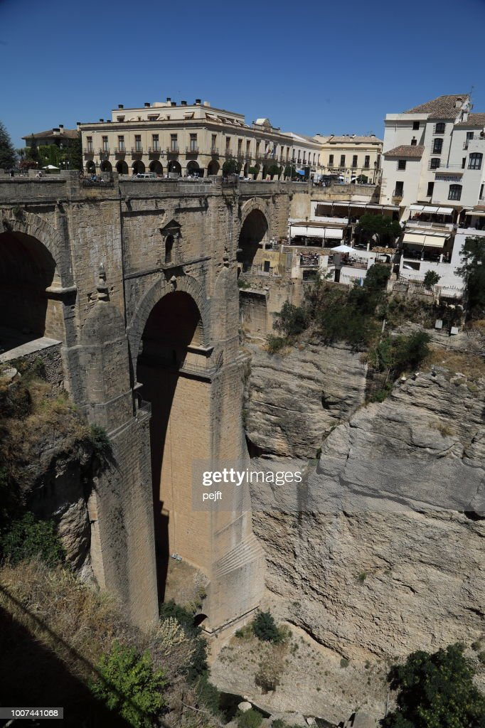 Puente Nuevo Bridge in Ronda Andalusia, Spain : Stock Photo