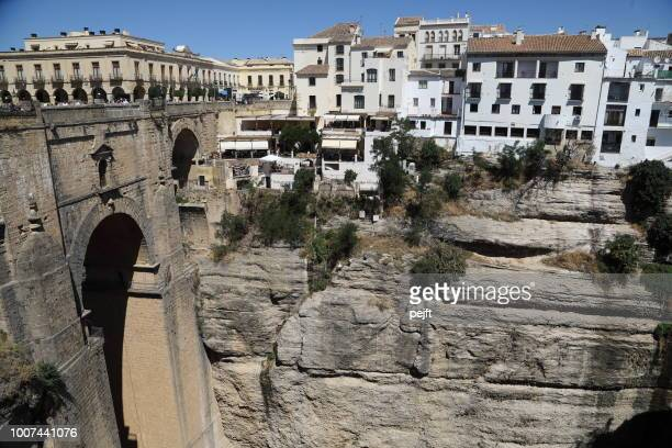 Puente Nuevo Bridge in Ronda Andalusia, Spain
