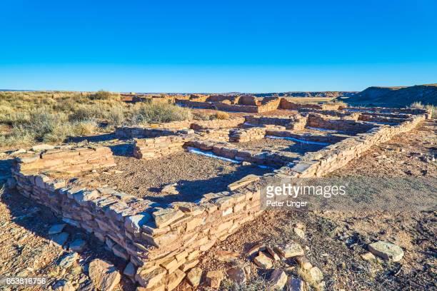 Puerco Pueblo, Petrified Forest National Park, Arizona, USA