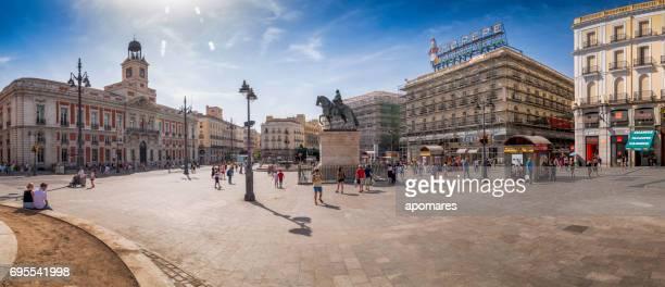 Puerta del Sol, Madri, Espanha