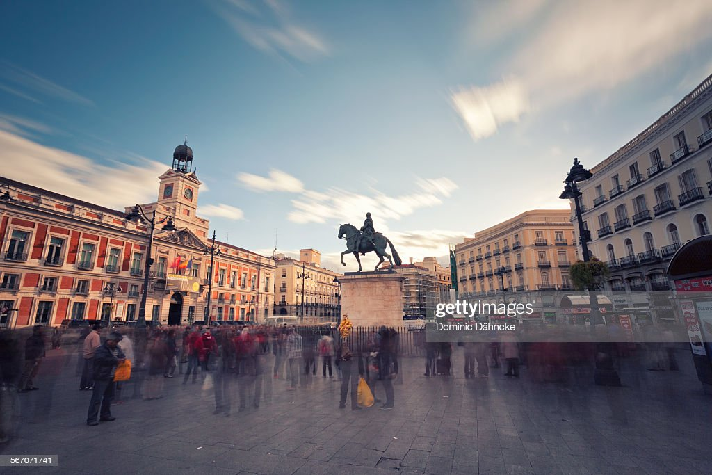 Puerta del Sol (Madrid) : Stock Photo