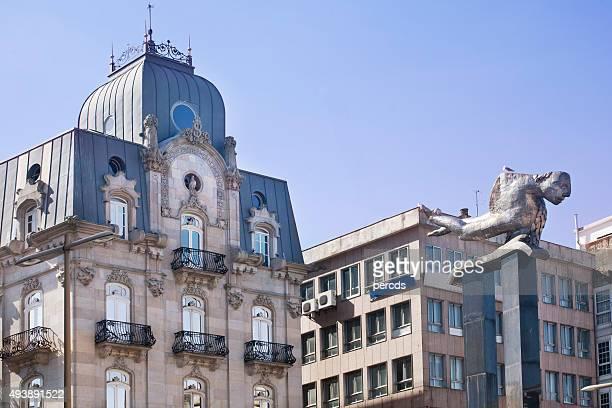 """Puerta del Sol"" square, Vigo, Galicia, Spain."