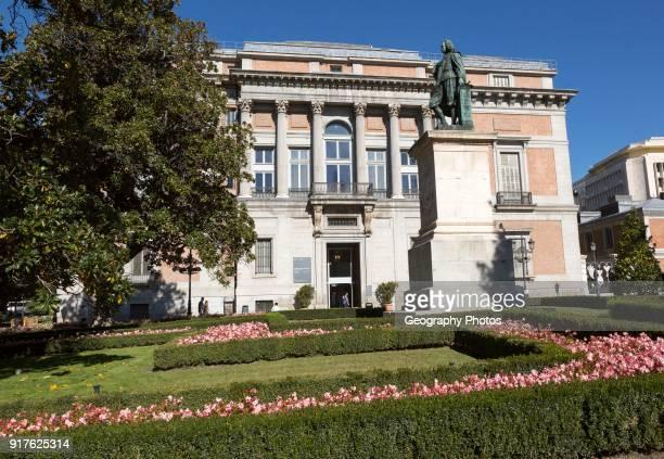 Puerte Murillo entrance to Museo del Prado museum art gallery Madrid Spain