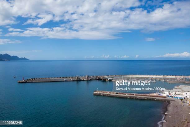 Puerto De Las Nieves Y Muelle Viejo De Agaete