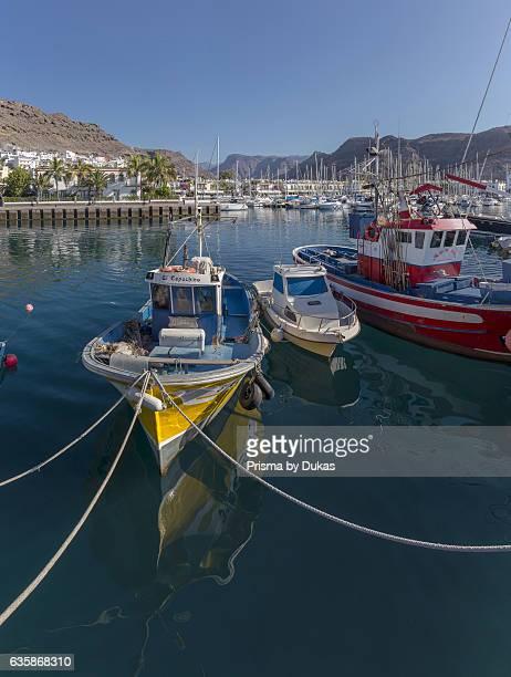 Puerto de Mogan in Gran Canaria Canary Islands