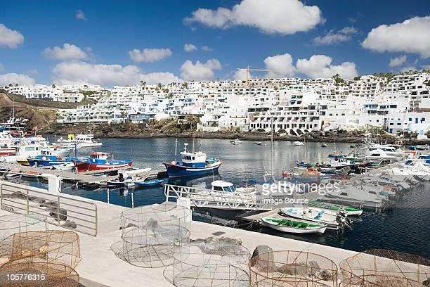 puerto del carmen, lanzarote - puerto del carmen stock pictures, royalty-free photos & images