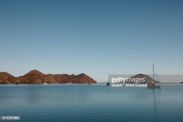 puerto escondido marina - escondido california stock photos and pictures