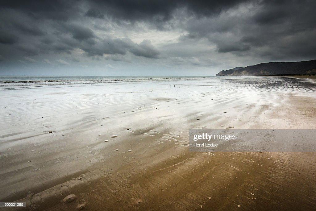 Puerto Lopez beach : Stock Photo