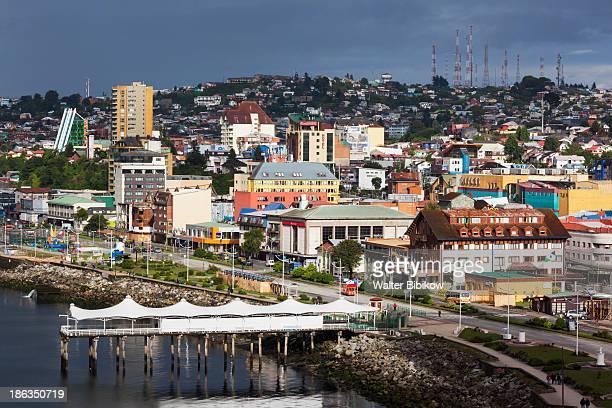 puerto montt waterfront - puerto montt - fotografias e filmes do acervo