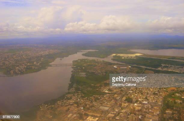 puerto ordaz & orinoco river - paisajes de venezuela fotografías e imágenes de stock