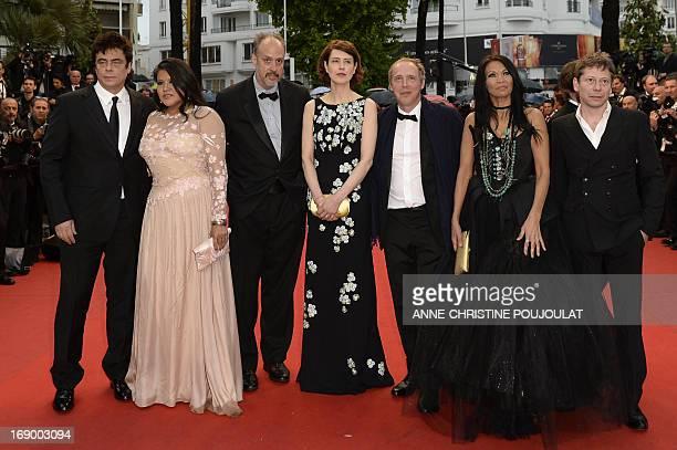 Puerto Rican actor Benicio Del Toro US actress Misty Upham US writer Kent Jones British actress Gina McKee French director Arnaud Desplechin Canadian...