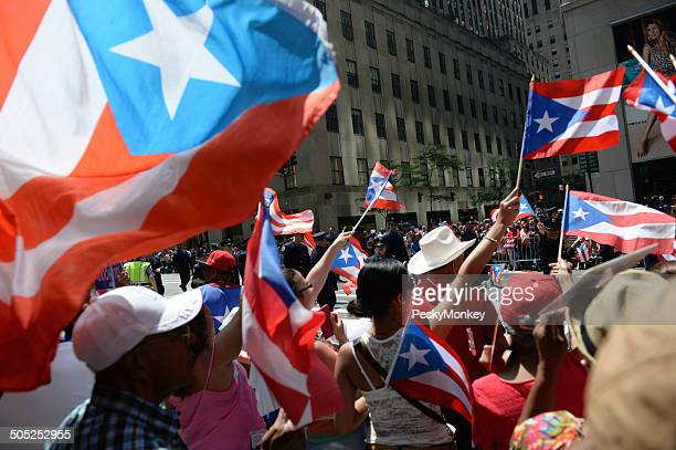 Puerto Rican Day Parade Supporters New York City