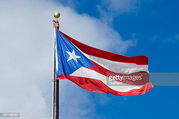puerto rican flag - puerto rico stock pictures, royalty-free photos & images