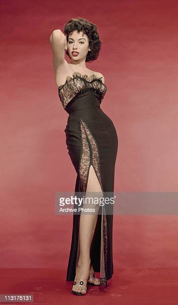Puerto Rican singer and actress Rita Moreno poses for the film 'The Vagabond KIng' in 1956