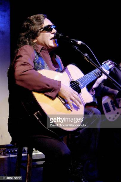 Puerto Rican singer and guitarist Jose Feliciano performs live on stage at the Jazz Cafe in Camden London on 11th October 2002