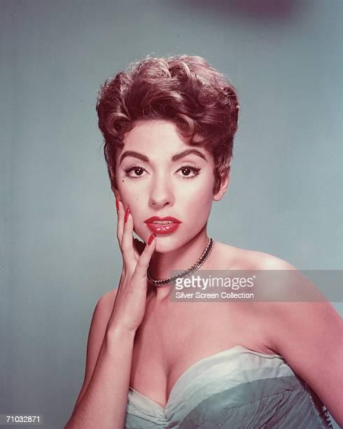Puerto Rican-born actress Rita Moreno, circa 1955.