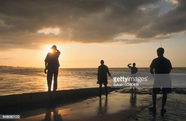 Puerto Rico Aguadilla Beach Sunset